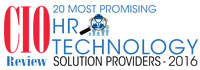 20 Most Promising HR Technology Solution Providers 2016
