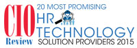 20 Most Promising  HR Technology Solution Providers - 2015